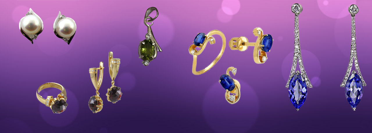 Romance with natural Gemstone Jewellery