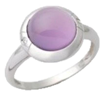 .925 Silver Amethist Ring