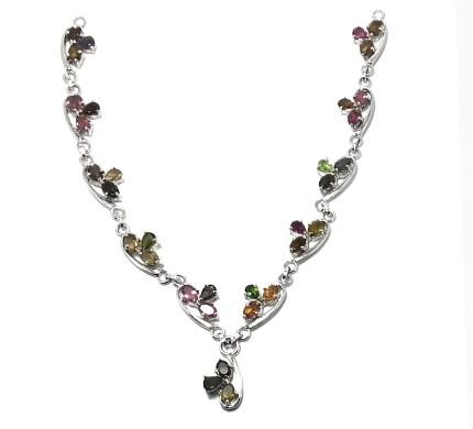 .925 Silver Termuline Necklace