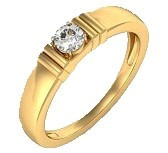 .585 Gold Diamond Ring